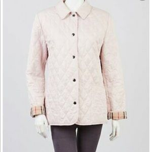 Burberry Ashurts Diamond Quilted Jacket